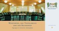 Tagungsprospekt - Hotel Buchenhof