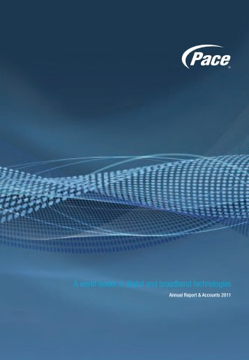 Pace Annual Report & Accounts 2011
