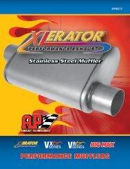 PERFORMANCE MUFFLERS - AP Exhaust