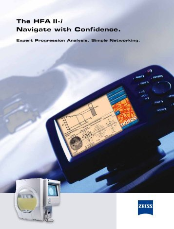 The HFA II-i Navigate with Confidence. - Carl Zeiss