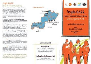 Progetto G.A.R.R. - ASL n.3 Genovese