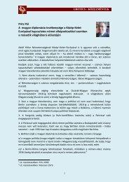 A_magyar_diplomacia 528 KB PDF dokumentum 2012.06 ... - Grotius