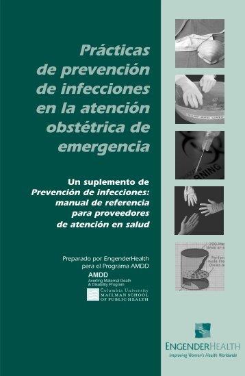 Practicas de prevencion de infecciones en la ... - EngenderHealth