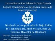 Descarga Alternativa - Universidad de Las Palmas de Gran Canaria