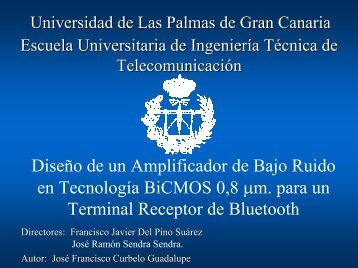 Descarga Alternativa - Universidad de Las Palmas de Gran Canaria