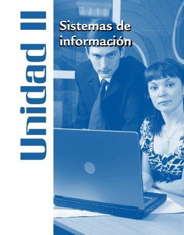Sistemas de información Sistemas de información