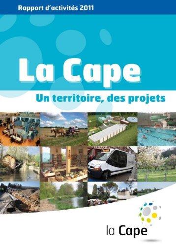 Rapport d'activités 2011 - CAPE