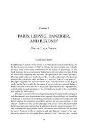 PARIS, LEIPZIG, DANZIGER, AND BEYOND - Kurt Danziger
