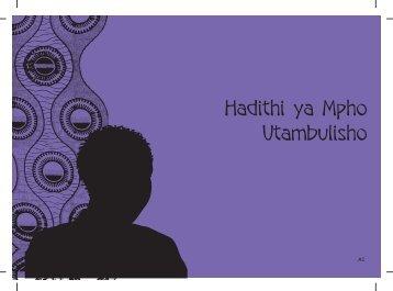 Hadithi ya Mpho Utambulisho - Raising Voices