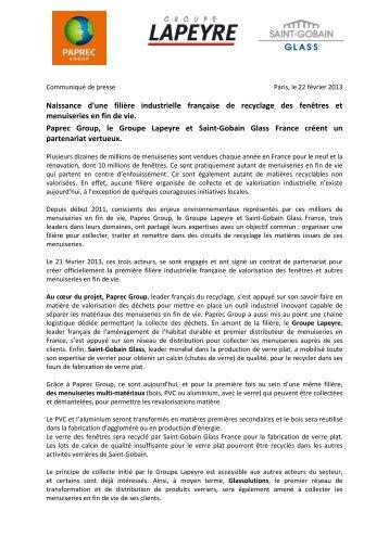 Naissance d'une filière industrielle française de ... - Groupe Paprec