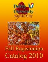 General Information - DeVry - Kansas City - DeVry University