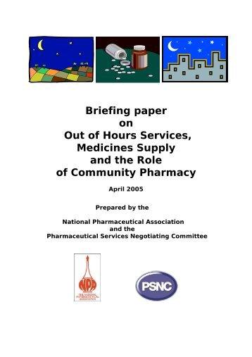 PDF 413.6Kb - National pharmacy association