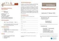 Flyer Rechtsformen + Finanzierung Karlsruhe 27.02.09