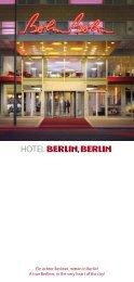 Ein echter Berliner, mitten in Berlin! A true ... - Hotel Berlin, Berlin