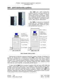 katalogový list - PhoNet