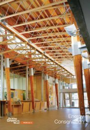 Energy Conservation - Naturally:wood