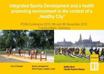 Healthy City - Impala-eu.org