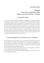Studienplan [pdf] - ZAG der Universität Freiburg