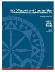 Sex Offenders and Communities - California Coalition on Sexual ...