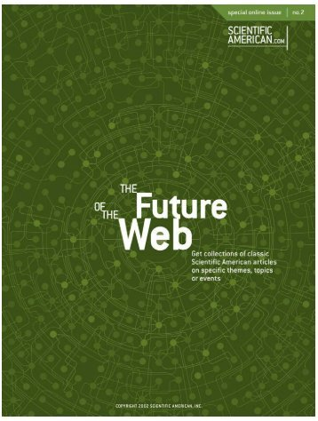 Sci American - Future Of The Web - Old Park High Speed Internet ...