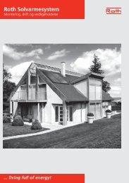 Solvarmesystem, installation, drift og vedligeholdelse - Roth