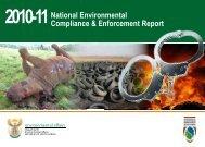 National Environmental Compliance & Enforcement Report - SAWMA