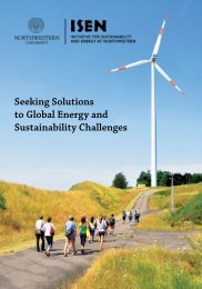 Seeking Solutions to Global Energy and Sustainability Challenges