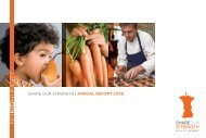 SHARE OUR STRENGTH I ANNUAL REPORT 2009