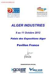 ALGER INDUSTRIES - CGPME Paris Ile de France