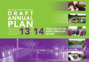 Draft Annual Plan 2013/14 - Palmerston North City Council