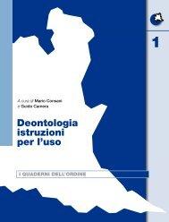 Deontologia istruzioni per l'uso - Ordine dei Giornalisti