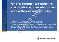 Variance-reduction techniques for Monte Carlo ... - Wcenter.de