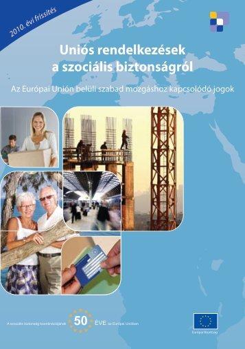 Uniós rendelkezések a szociális biztonságról - Immigrazione.biz