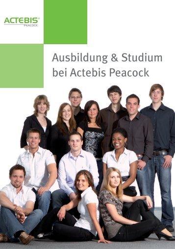 Ausbildung & Studium bei Actebis Peacock