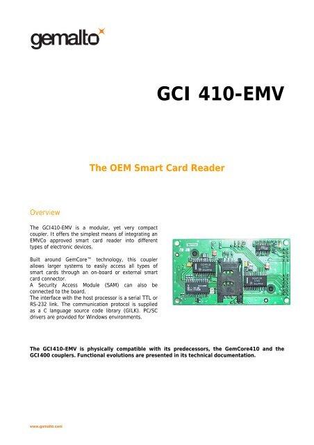 GCI410EMV - Gemalto
