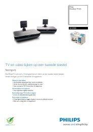 SLV4200/12 Philips Draadloze TV-link - Icecat.biz