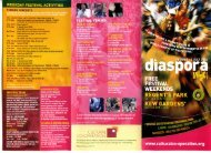 Diaspora Music Village 2004 - Cultural Co-operation
