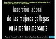 Proyecto financiado por la Secretaría da Igualdade (Xunta ... - SEMM