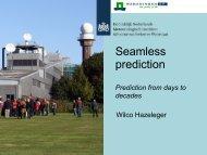 Seamless prediction