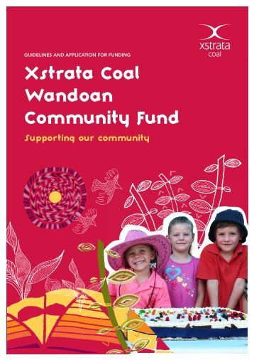 Xstrata Wandoan Community Fund Application Form - Xstrata Coal ...