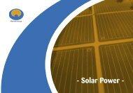 E-solar power.indd - Home Energy
