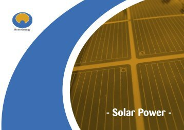 E-solar power.indd - Home Energy