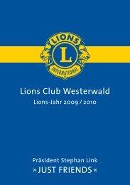 Lions Club Westerwald »JuSt FriendS«