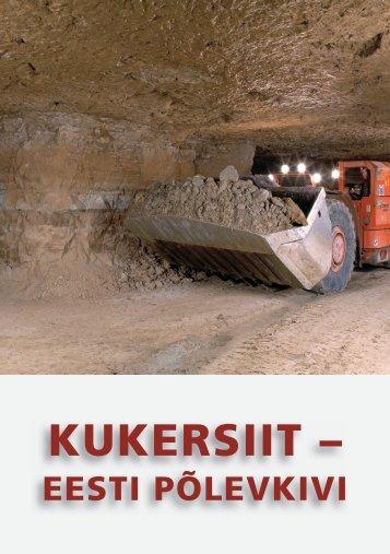 Kukersiit - Eesti põlevkivi (2006) - Geoloogia Instituut