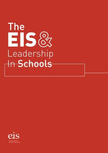EIS Leadership Policy document - The Educational Institute of ...