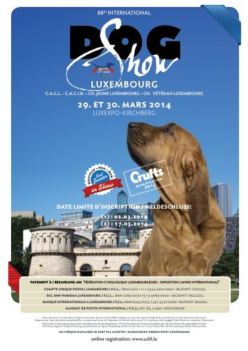 centrale canine luxembourg