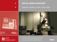 Prezentace UK - Vysoké učení technické v Brně