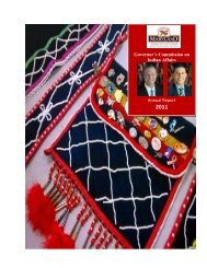 Governor's Commission on Indian Affairs Annual Report - Maryland ...