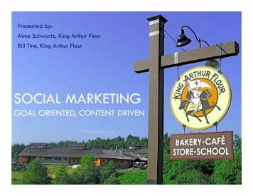 Social Marketing - Goal Oriented, Content Driven - Direct Gardening ...