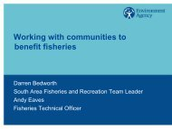 Working with communities to benefit fisheries - Institute of Fisheries ...